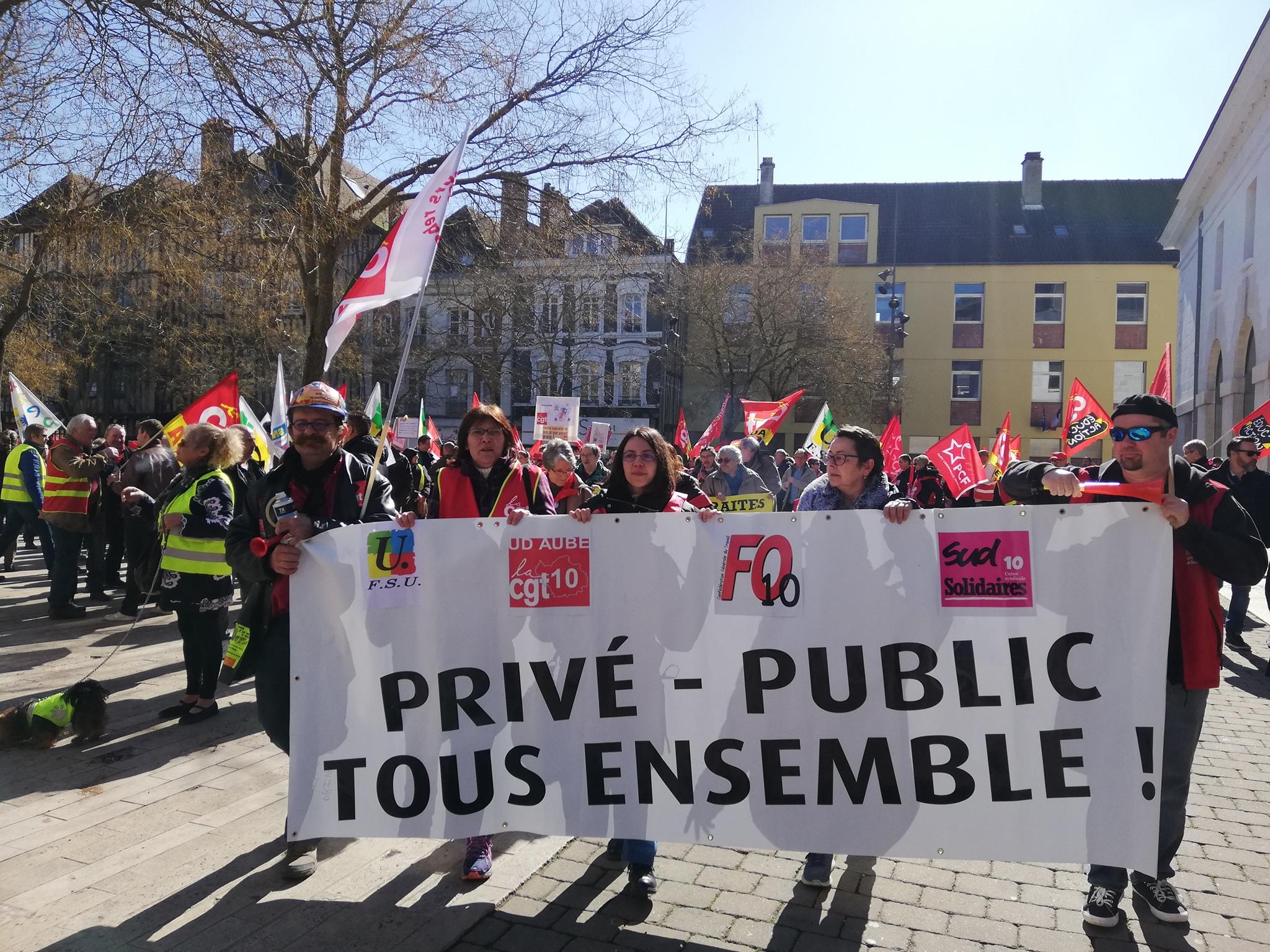 b1cb0c5d65d Les syndicats appellent à la grève le 9 mai contre la réforme de la fonction  publique